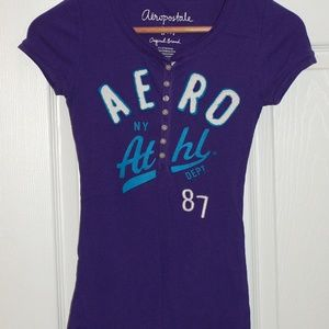Aeropostale NY Athl. Dept '87 Junior Shirt M